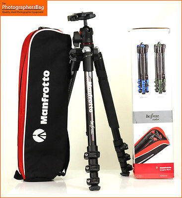 Manfrotto Befree MKBFRA4GY -BH  Aluminium Tripod Free UK Post