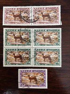 Assorted Stamps from Ethiopia