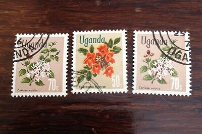 Assorted Stamps from Uganda