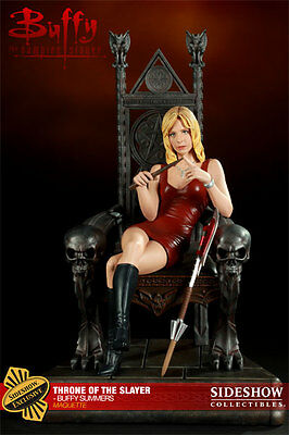 Sideshow Buffy The Vampire Slayer Throne Of The Slayer Buffy Summers Maquette Ex