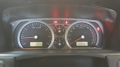 ford falcon ba bf xr6 dash cluster 155791kms