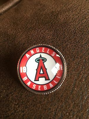 LOS ANGELES ANGELS Of Anaheim Unique Baseball MLB  Top Quality Raised Pin Badge