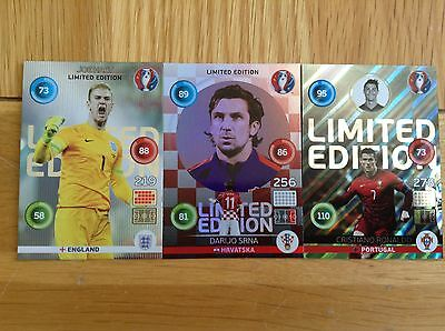 Panini AdrenalynXL Euro2016 Various Limited Edition cards Classic, Hero & Shiney