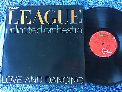 The League Unlimited Orchestra Love And Dancing Vinyl Record Lp 12""