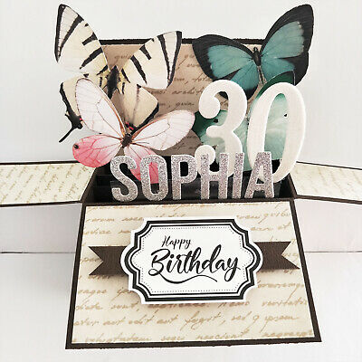 Handmade card Anniversary / Retirement / birthday | graduation Name personalized