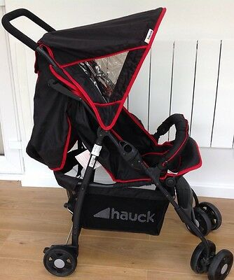 hauck sports buggy lightweight pushchair 0m 4y b picclick uk. Black Bedroom Furniture Sets. Home Design Ideas