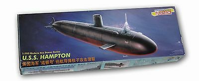 Submarino Nuclear USS Hampton, clase Los Angeles,  Dragon 1/350
