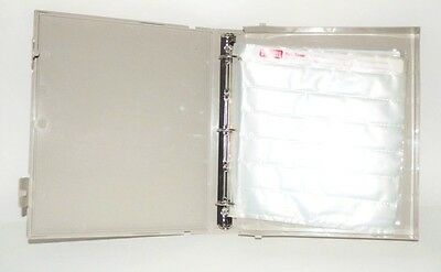Vue-All Archival Box Binder Case 35mm Negative Saver & 21 Pages
