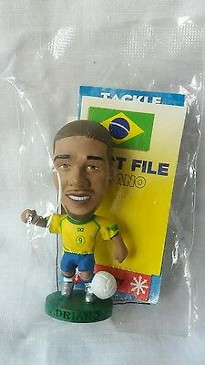 Corinthian Prostars Adriano Figure Brazil Home Kit Silver Boots - NEW