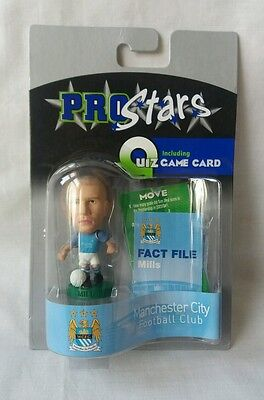 Corinthian Pro Stars Danny Mills Figure Manchester City Home - Blister Pack NEW