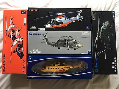 New Ray Scale Die Cast Helicopter Job Lot. BNIB