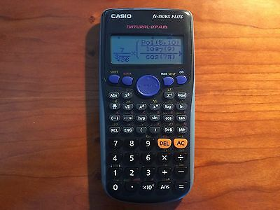 Calcolatrice Scientifica CASIO fx-350 ES PLUS