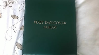 48 Gb First Day Covers In Album 2010-2012
