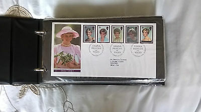 48 GB FIRST DAY COVERS plus ALBUM 1993-1998