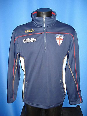England Rugby League Track Top Jacket Shirt size Medium M