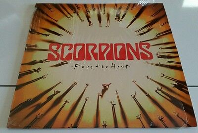 SCORPIONS-Face the heat(LP)1993 SPANISH+INSERT NM