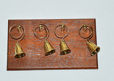 12Th Scale Dollshouse Handcrafted Servants Bells Victorian