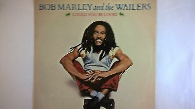 """105) - 1980 - BOB MARLEY & The Wailers-COULD YOU BE LOVED-NO WOMAN NO CRY -  7"""""""