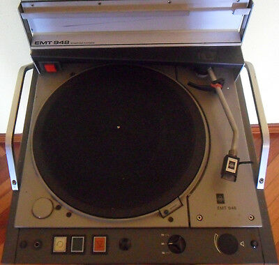 EMT 948 Broadcast Turntable (1985)