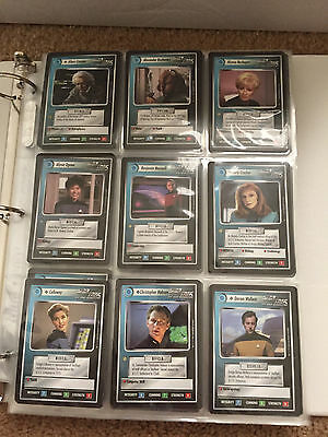 Star Trek Collectible Card Game CCG Premiere BB Complete Set 1E First Edition
