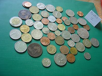 Mixed Lot of Foreign and UK Coins Batch I