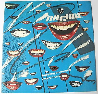 "The Cure - Jumping Someone Else's Train / I'm Cold 7"" vinyl 45 rpm Ex / Ex-"