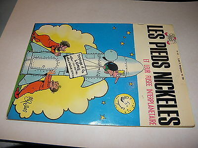 Les Pieds Nickeles  N° 40 - Et Leur Fusee Interplanetaire    - E.o  1968