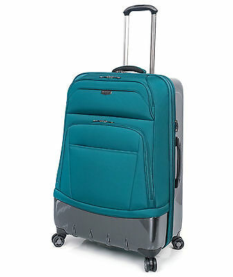 """RICARDO BEVERLY HILLS Wilshire 28"""" Expandable Luggage Spinner Teal"""