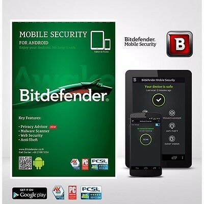 Bitdefender Mobile Security 2017 6 Months Subscription