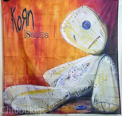 KORN Issues HUGE 4X4 BANNER poster tapestry cd album cover art nu metal band