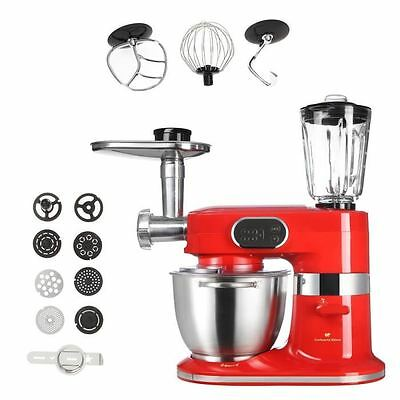 CONTINENTAL EDISON RB200WR Robot multifonctions professionnel - 1000W - Rouge