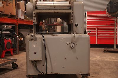 "Thickness Planer 20"" 5 HP 3 Phase motor Heavy Duty"