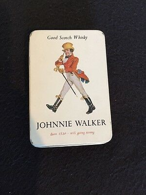 Collectable Vintage Jonnie Walker Playing Cards