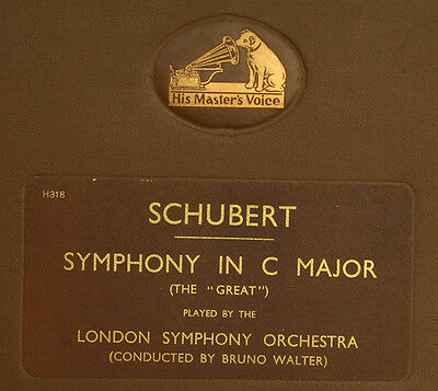 "LONDON SYMPH.ORCH. & BRUNO WALTER Schubert: 3. Symphonie C-Dur ""The Great""  A205"