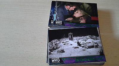 Doctorwho Trading Card 2016 Time Less,  Green Cards Basic Set Of 100New