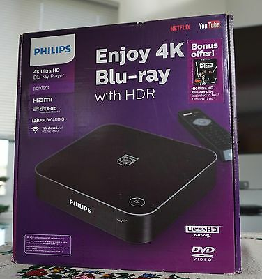 PHILIPS 4K Ultra HD Blu-ray player BDP7501 / F7