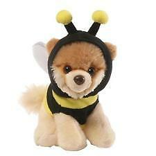 Gund 4058943 The Worlds Cutest Dog Itty Bitty Boo Bumble Bee