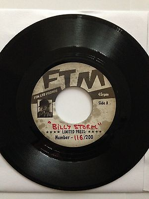 It's What's Happening Baby Billy Storm Ftm Record With Unissued Acetate