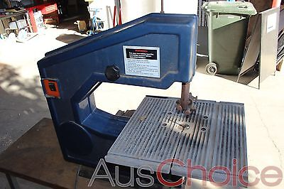Band Saw w Diamond 240v 1/3hp Induction Motor with Table - needs new drive belt