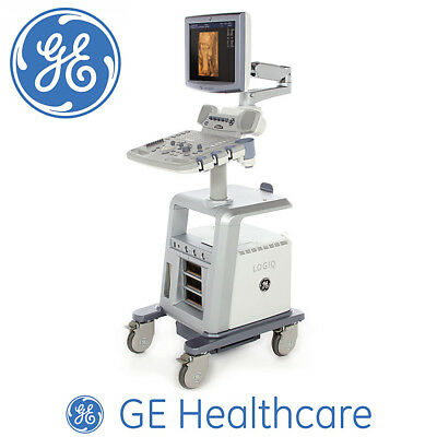 (ON SALE) GE Refurbished Ultrasound Scanner Machine System (+) 4C Convex Probe