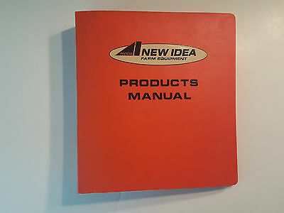 New Idea Dealership Products Sales Binder, Contains Brochures on UniSystem +more