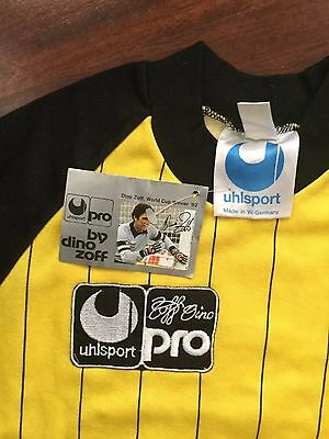 Dino Zoff Uhlsport Maglia Portiere Football Shirt Juve Young Vintage 82 Italy
