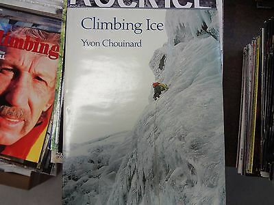 Climbing Ice by Yvon Chouinard Autographed