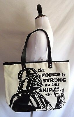 Disney Cruise Line Star Wars Darth Vader Force is Strong on This Ship Tote Bag