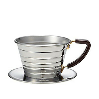 Kalita Wave Series 155 stainless steel Dripper  For 1 to 2 cup Made In Japan