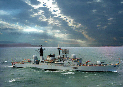Hms Sheffield D80 - Hand Finished, Limited Edition (25)