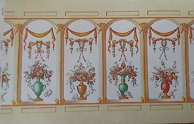 nos MINIATURE DOLLHOUSE mini graphics wallpaper- natasha french bouquet mural