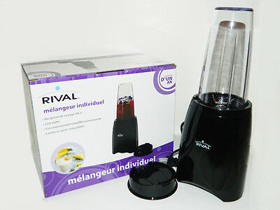 Personal Blender by Rival with 15 oz. travel cup and lid