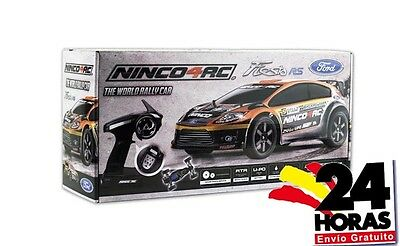 NINCO NH93073 FORD Fiesta RS RTR RC CAR  rally rallyes WRC 2,4 Ghz 1/12