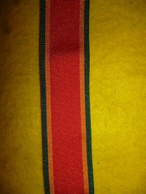 """6/"""" of  WW2 1939-45 Africa Service Medal Full Size Medal Ribbon"""